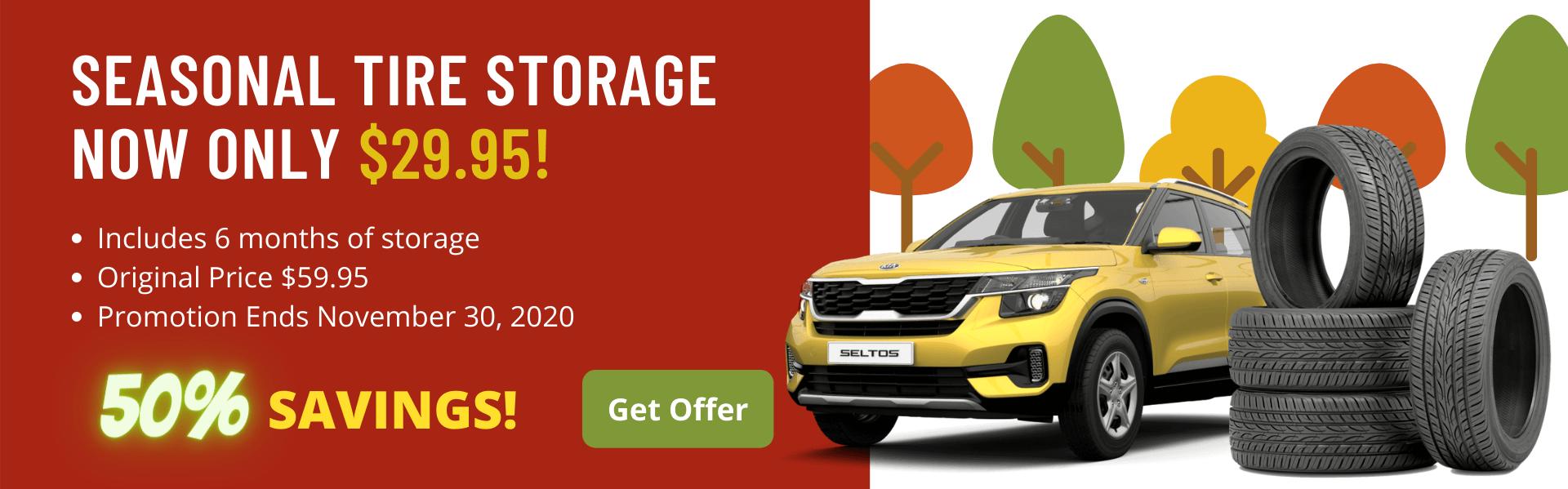 Tire Storage discount